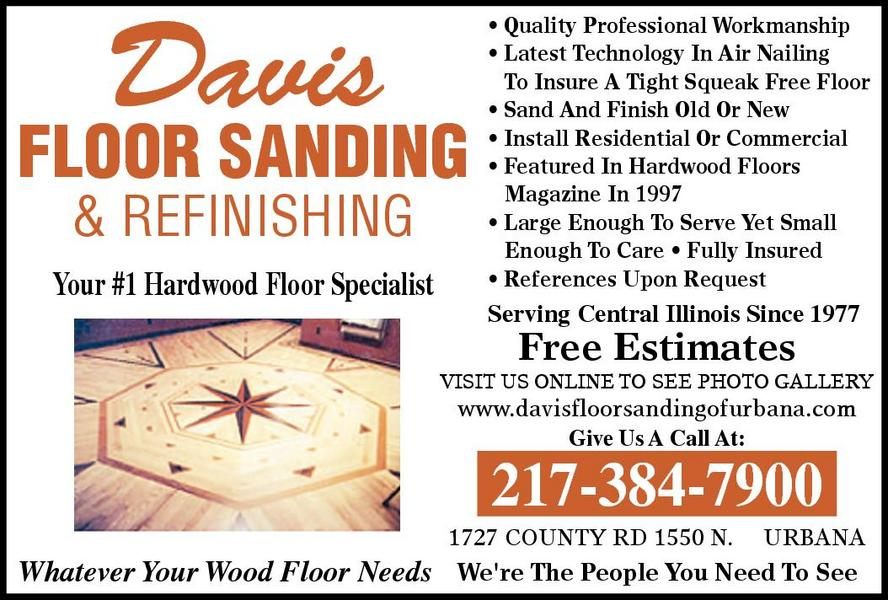 Davis Floor Sanding & Refinishing