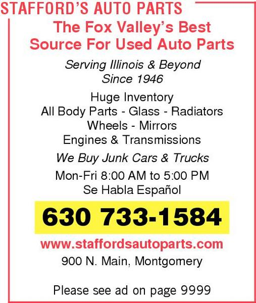 Stafford's Auto Parts and Recycling