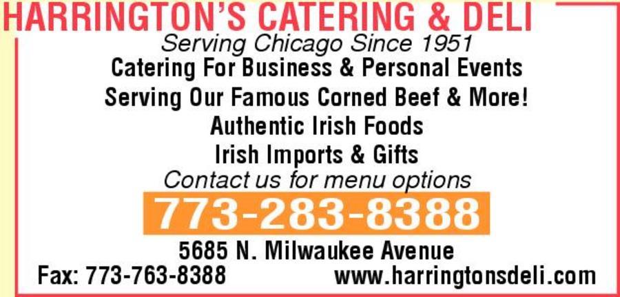 Harrington's Catering & Deli