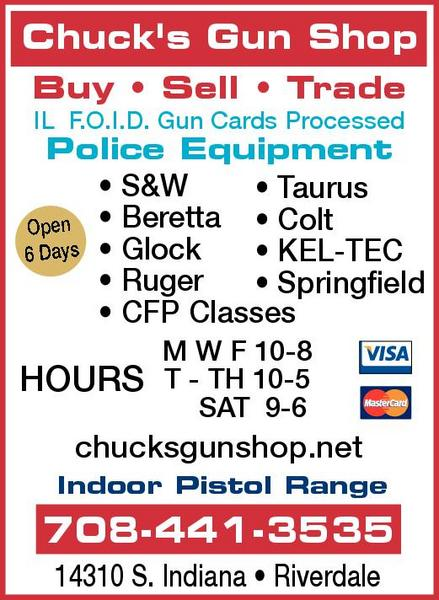 Chuck's Gun Shop & Pistol Range