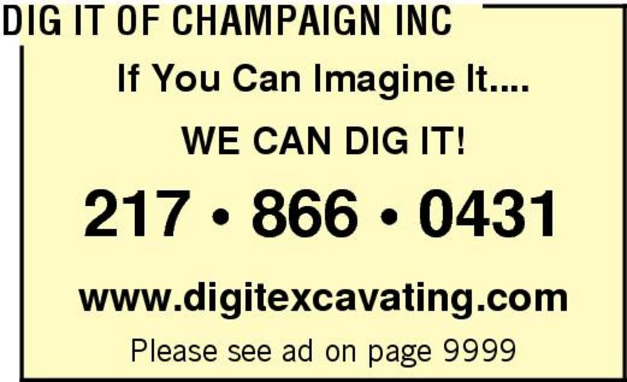 Dig It Of Champaign Inc