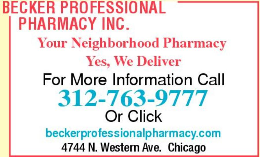 Becker Professional Pharmacy Inc