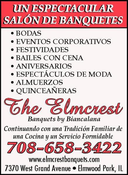 Elmcrest Banquets by Biancalana