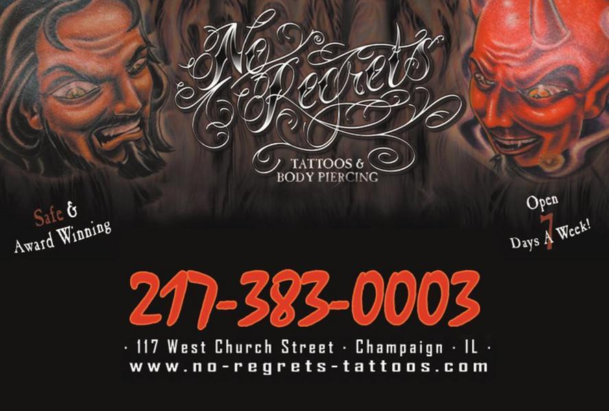 No Regrets Tattoos & Body Piercing