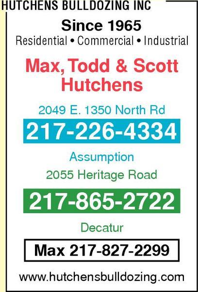 Hutchens Bulldozing Inc