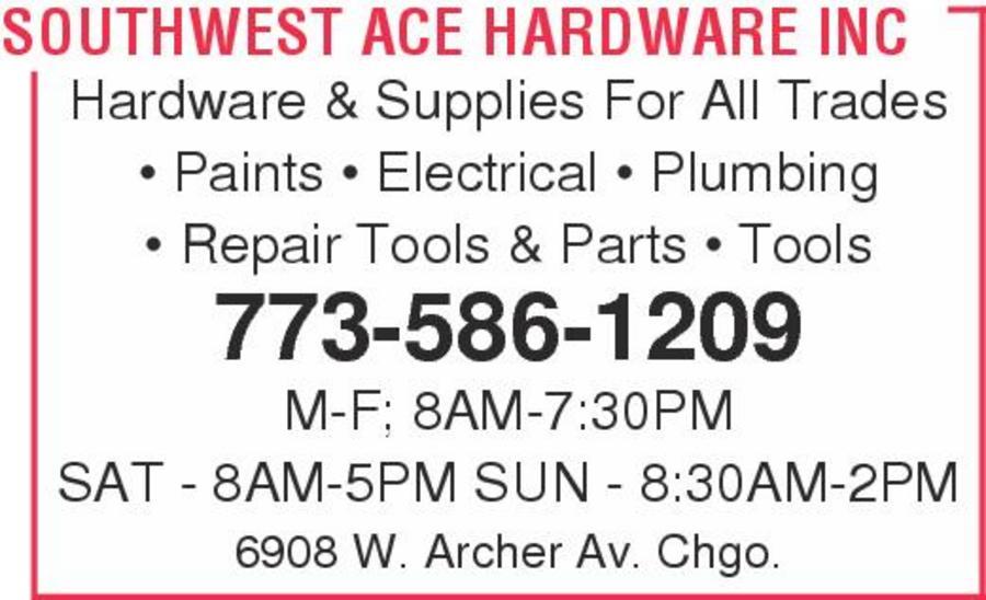 Southwest Ace Hardware Inc