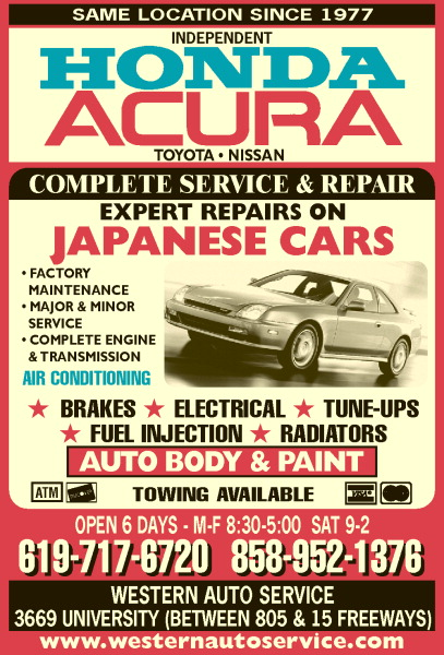 Honda & Acura Repair Specialists