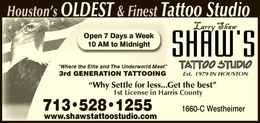Shaw's Tattoo Studio