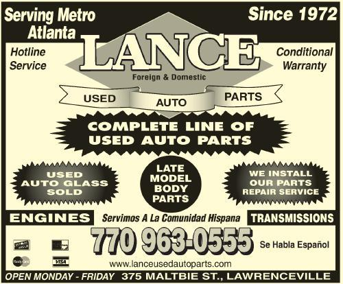 LANCE USED AUTO PARTS