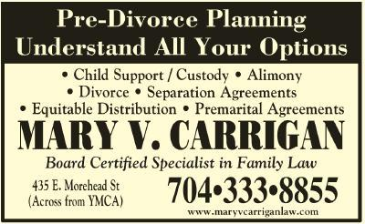 Carrigan, Mary V