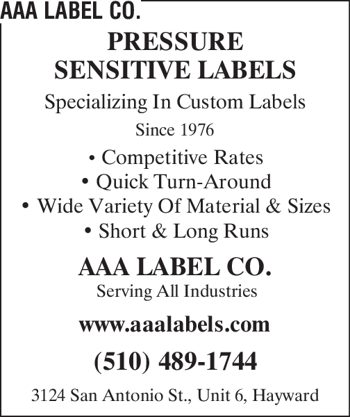 AAA Label Co.