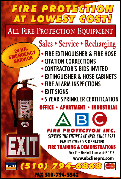 A B C Fire Protection