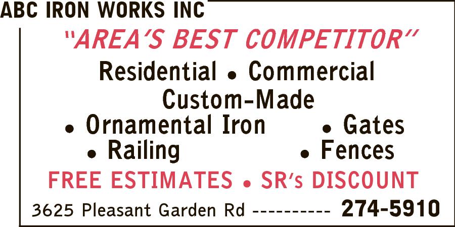 ABC Iron Works Inc