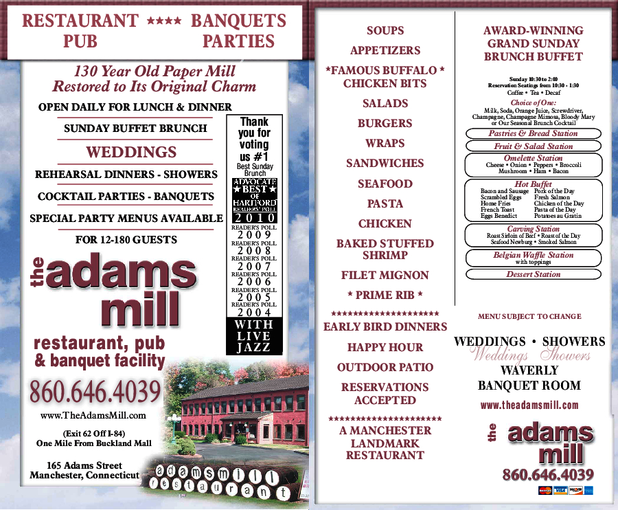 Adams Mill Restaurant