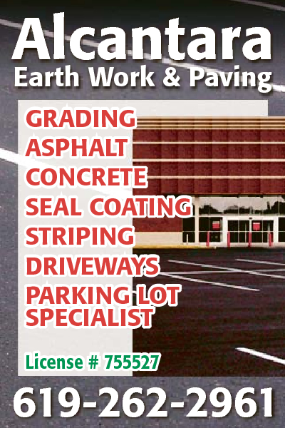 Alcantara Earth Work And Paving Company