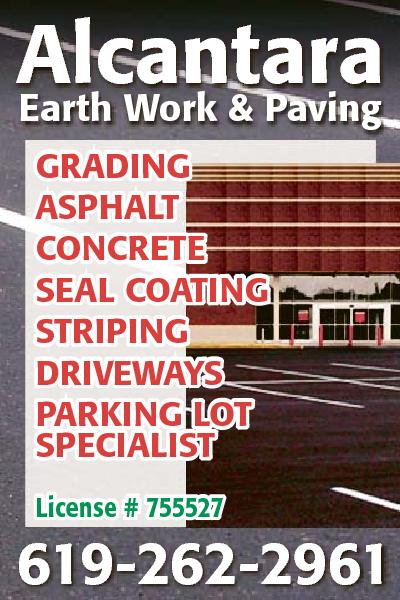 Alcantara Earth Work And Paving Company