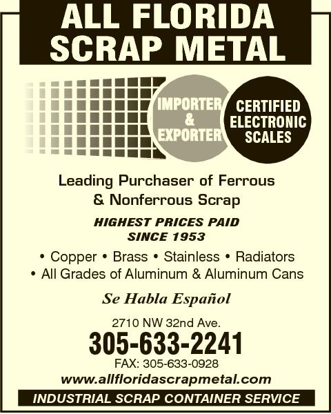 All Florida Scrap Metal
