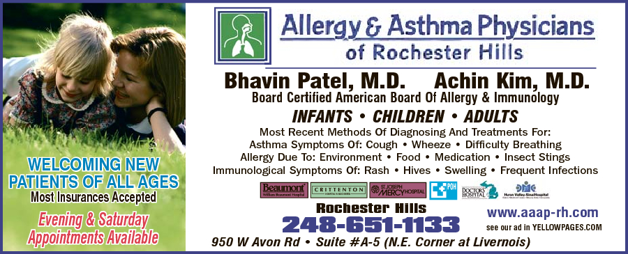 Allergy & Asthma Physicians of Rochester Hills