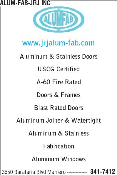 Alum-Fab-JRJ Inc