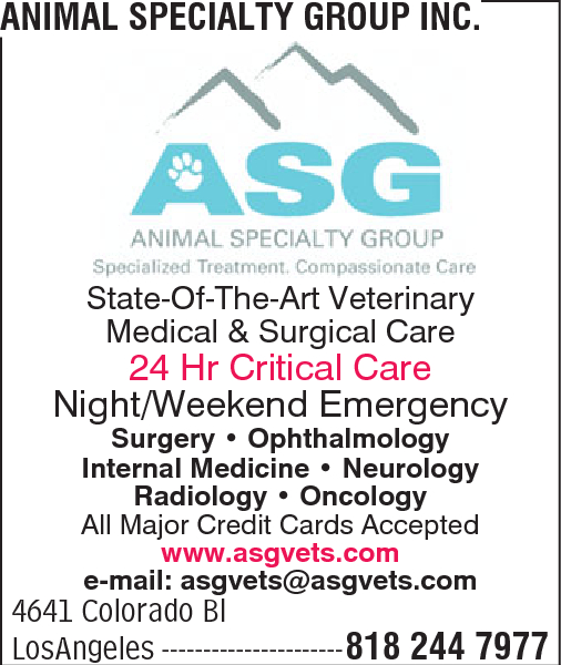 Animal Specialty Group Inc.