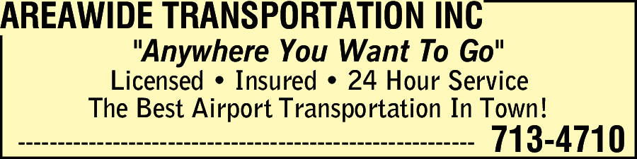 Areawide Transportation Inc