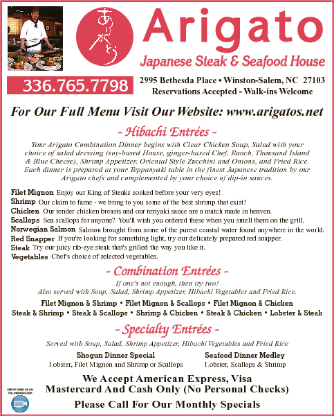 Arigato Japanese Steak & Seafood House