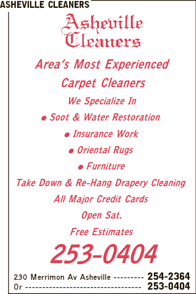 Asheville Cleaners