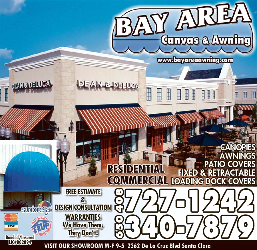 Bay Area Canvas & Awning Inc
