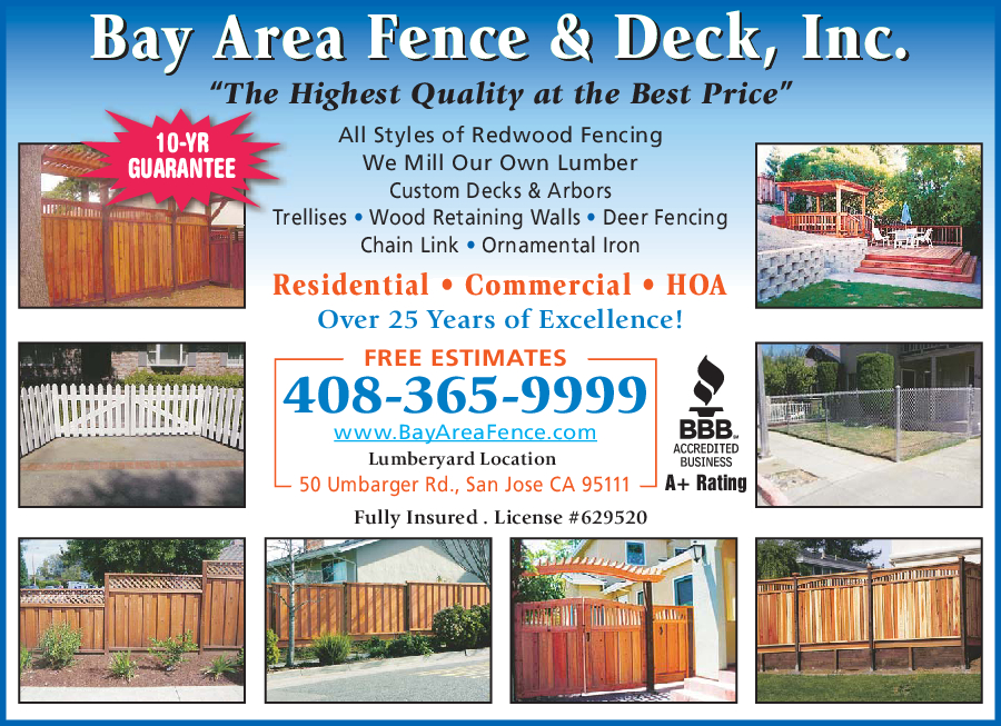 Bay Area Fence & Deck