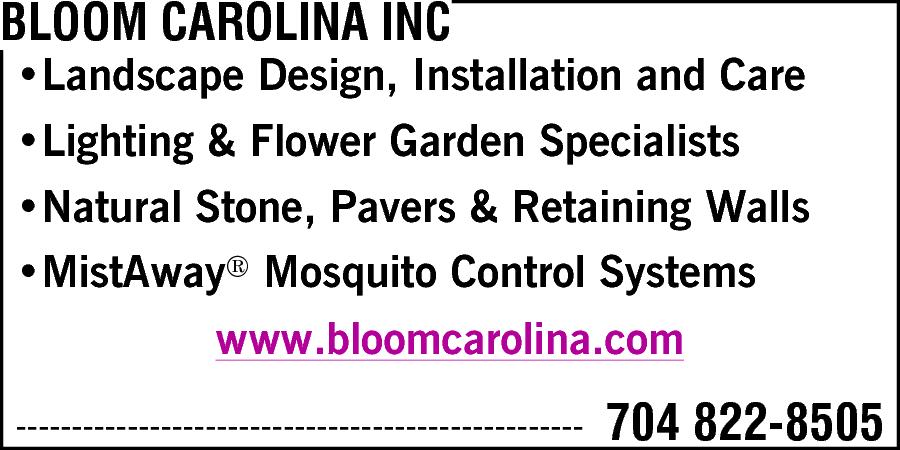 Bloom Carolina Inc
