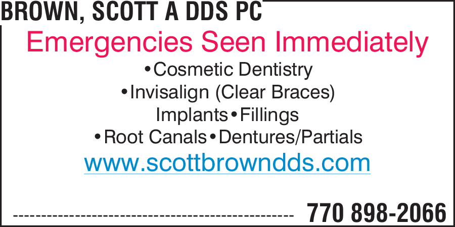 Brown, Scott A DDS PC