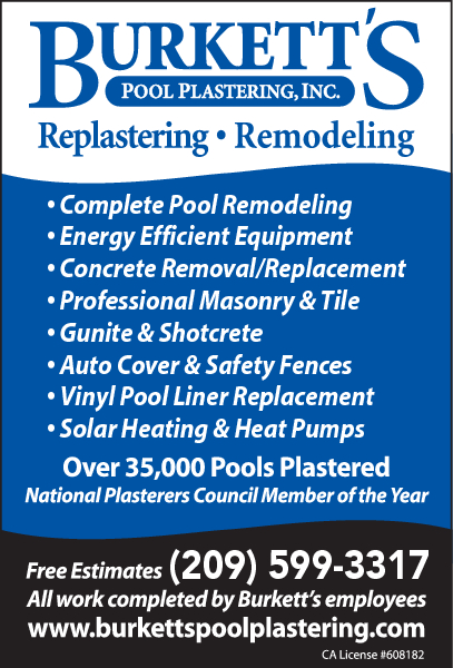 Burkett's Pool Plastering Inc.