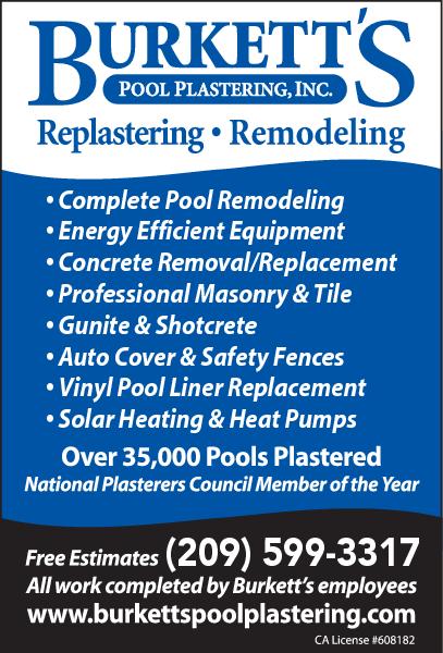 Burkett's Pool Plastering Inc.