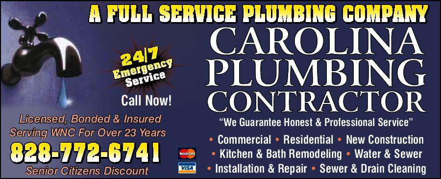 Carolina Plumbing Contractor