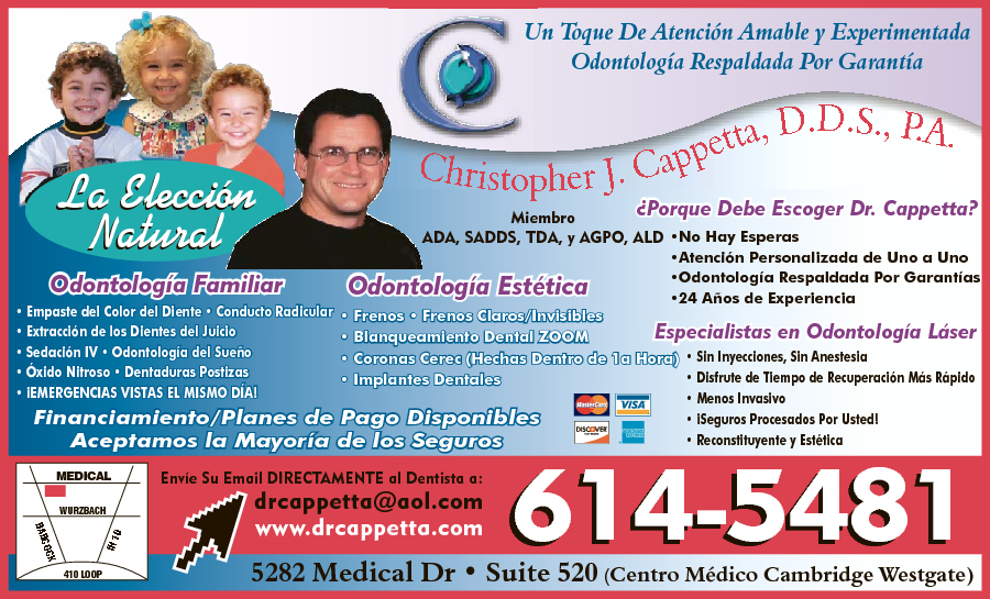 Christopher J Cappetta DDS PA