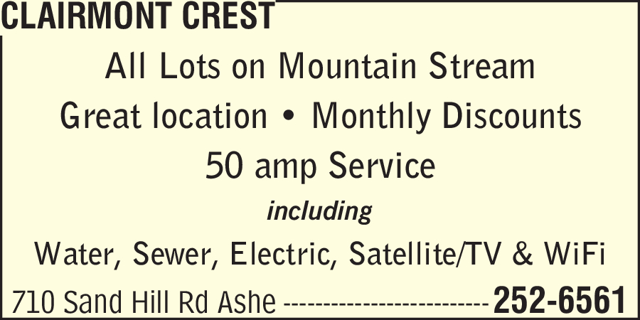 Clairmont Crest