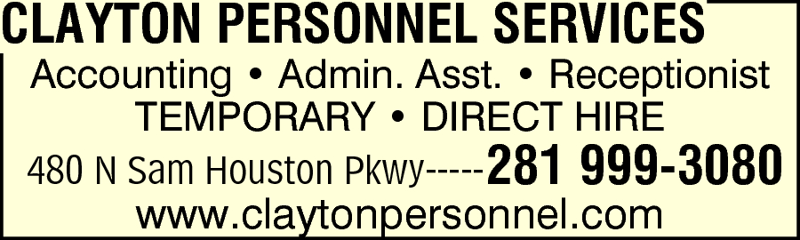 Clayton Personnel Services