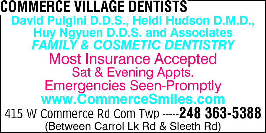 Commerce Village Dentists