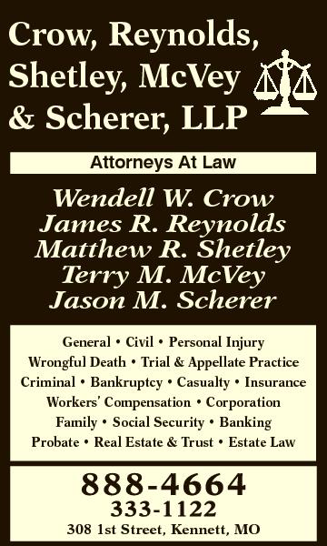 Crow, Reynolds, Shetley, McVey & Scherer, LLP