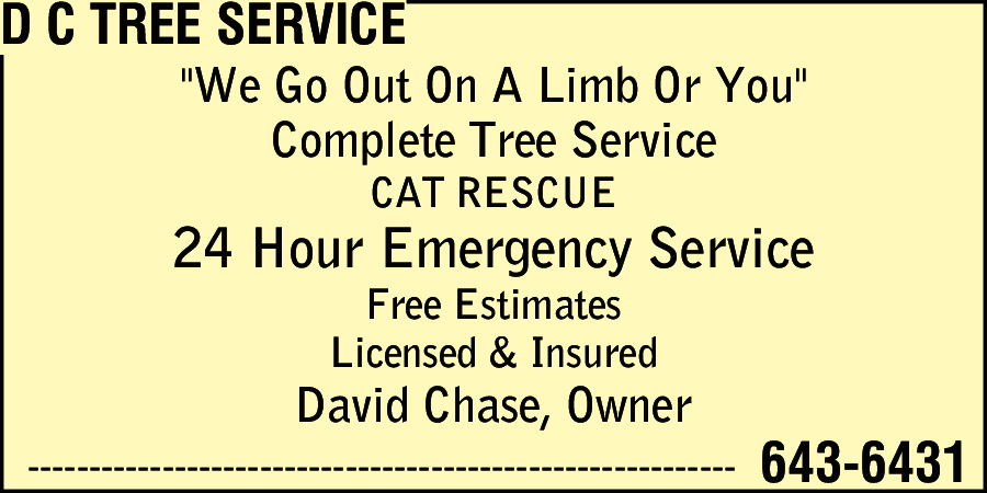 D C Tree Service