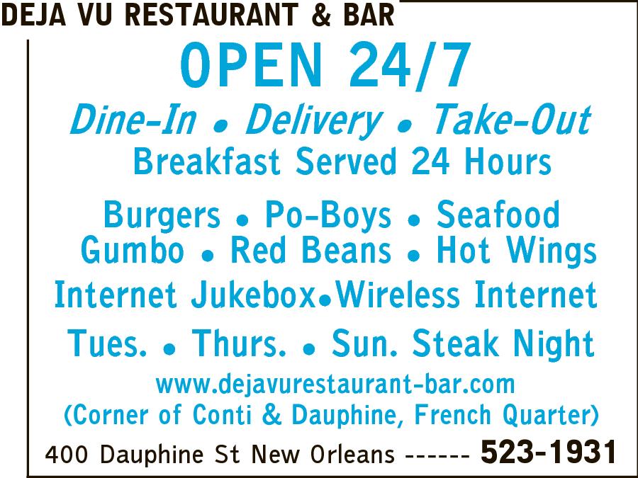 Deja Vu Restaurant & Bar
