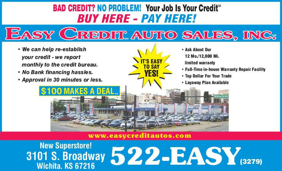 Easy Credit Auto Sales Inc