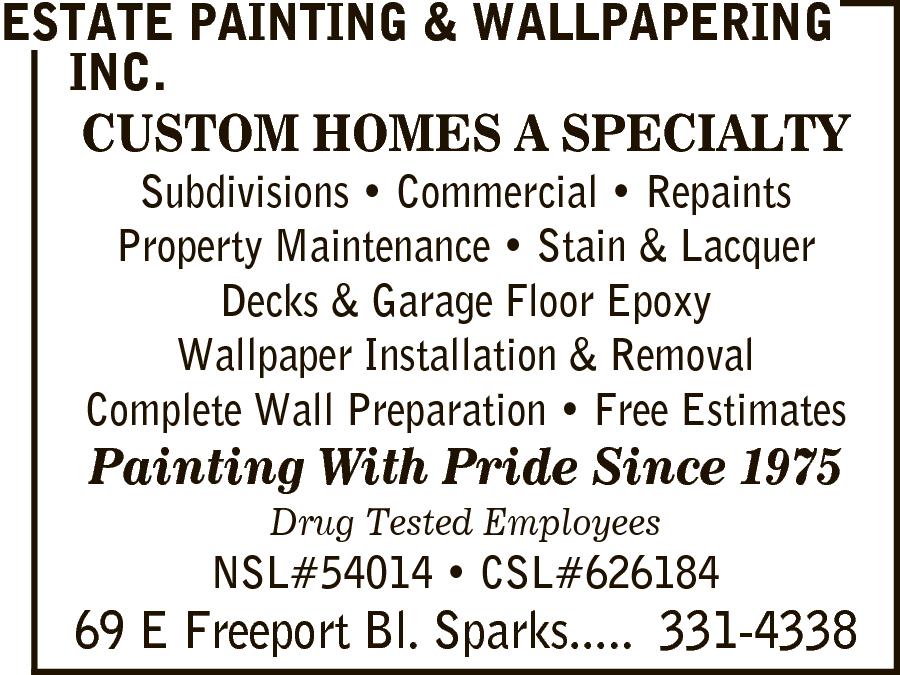 Estate Painting & Wallpapering Inc.