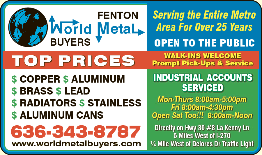 Fenton World Metal Buyers