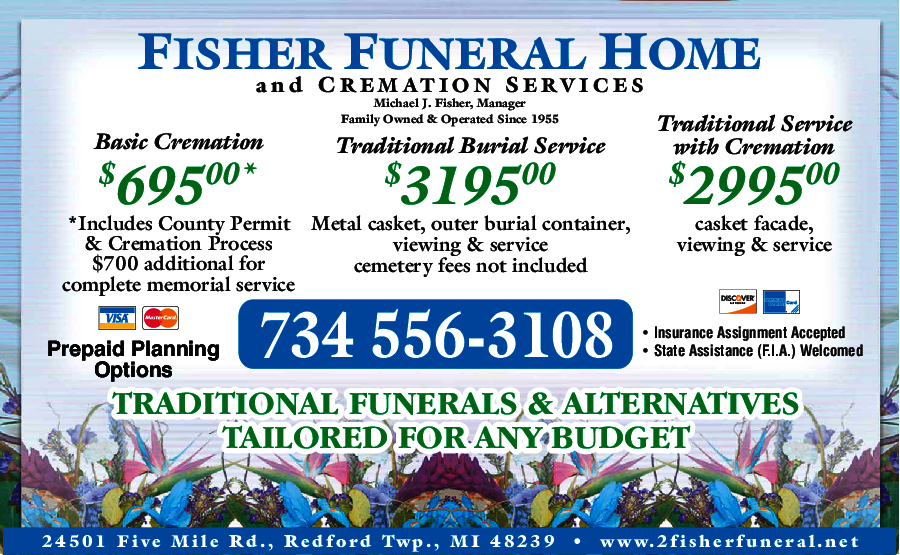 Fisher Funeral Home & Cremation Service