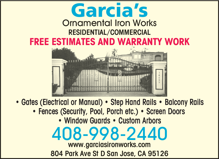 Garcias Ornamental Iron Works