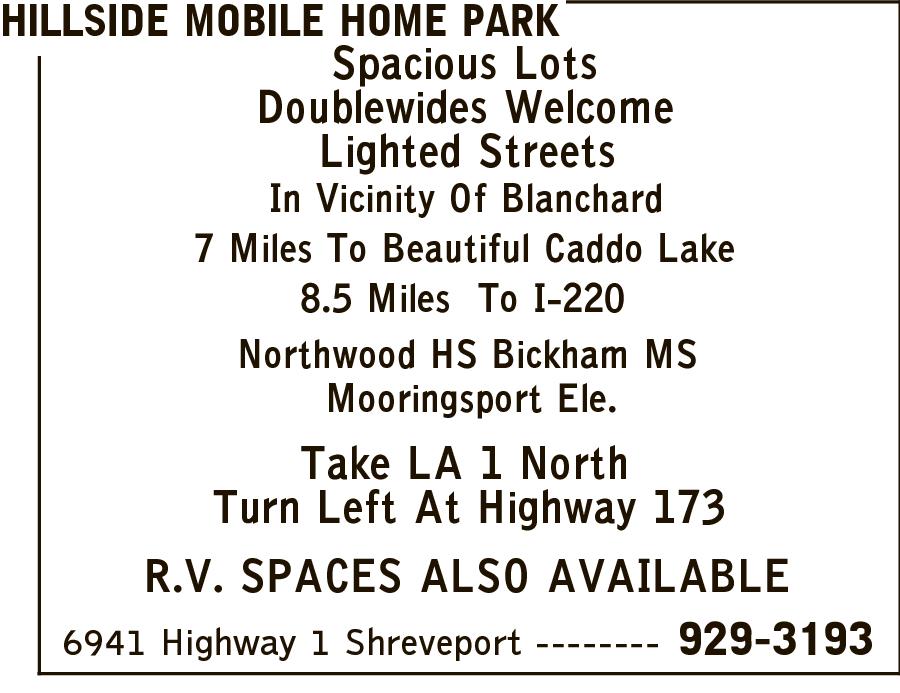 Hillside Mobile Home Park