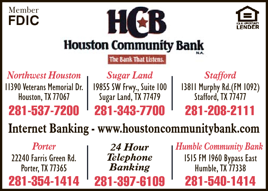 Houston Community Bank NA