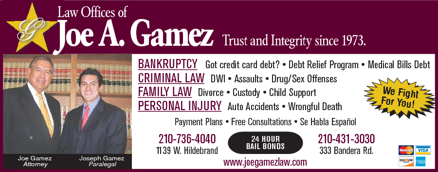 Joe Gamez Attorney At Law