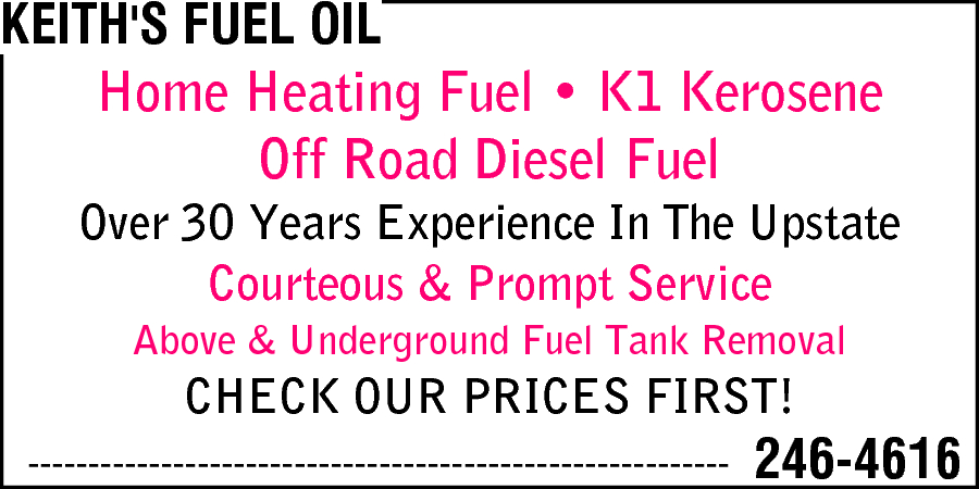 Keith's Fuel Oil
